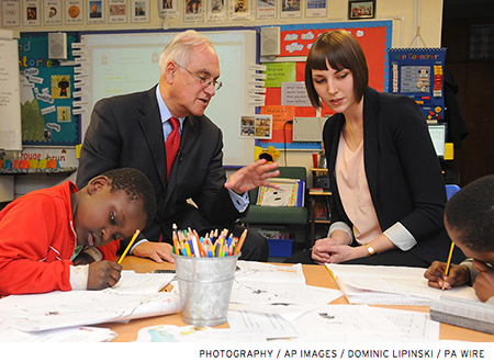 Ofsted Chief Inspector visits school